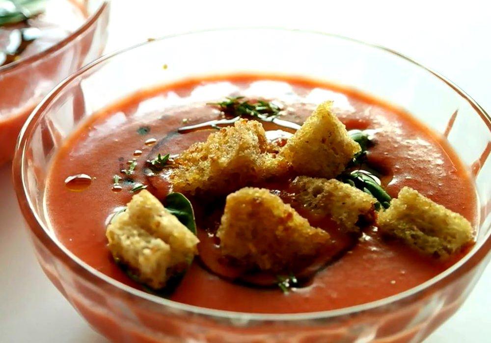 Гаспачо з полуницею - покроковий рецепт, фото 1