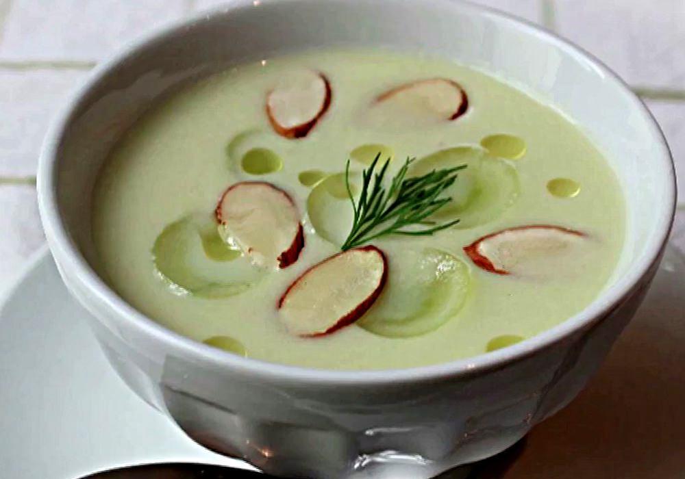 Гаспачо из огурцов - пошаговый рецепт, фото 1