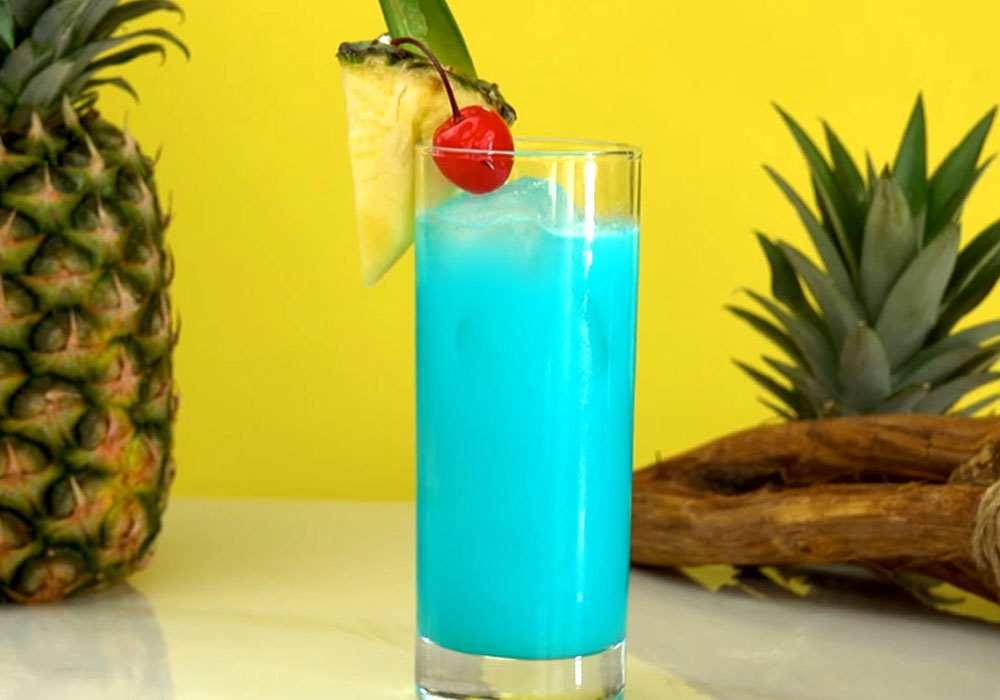 Гавайский коктейль - пошаговый рецепт, фото 1
