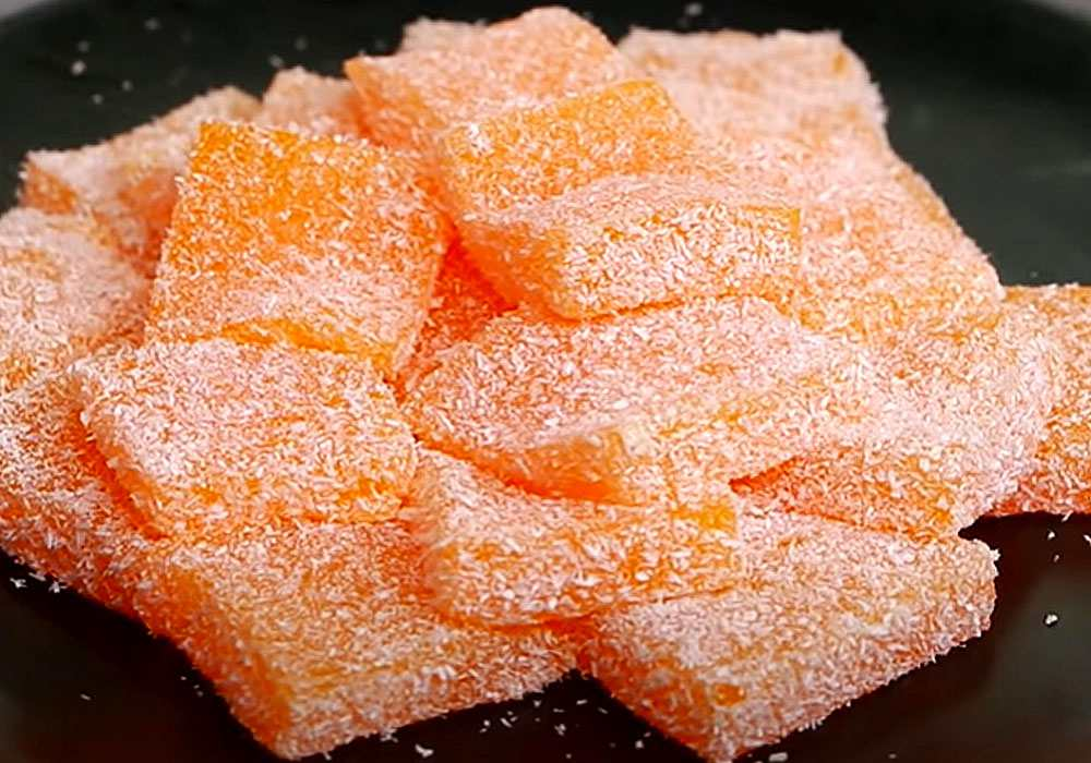 Желе из сока апельсина - пошаговый рецепт, фото 1