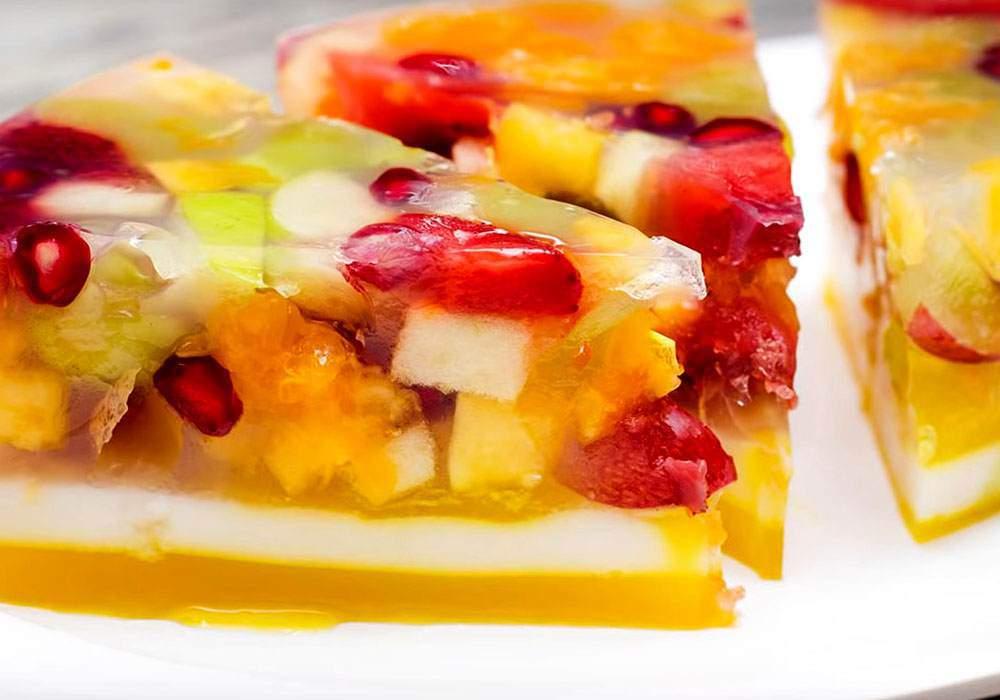 Желе с фруктами - пошаговый рецепт, фото 1