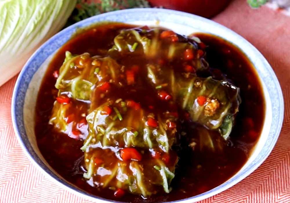 Голубці з пекінської капусти в каструлі - покроковий рецепт, фото 1