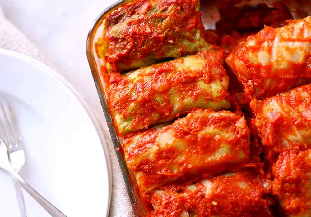 Голубцы в духовке в томатном соусе - пошаговый рецепт, фото 1