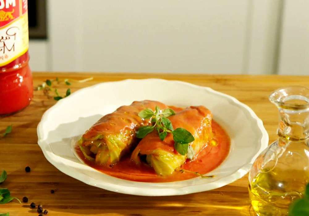 Голубці в томатному соусі - покроковий рецепт, фото 1