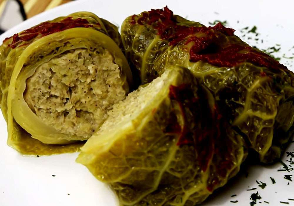 Голубцы из савойской капусты - пошаговый рецепт, фото 1