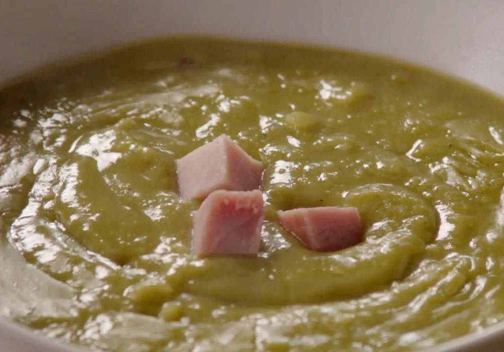 Гороховый суп пюре с копченостями - пошаговый рецепт, фото 1
