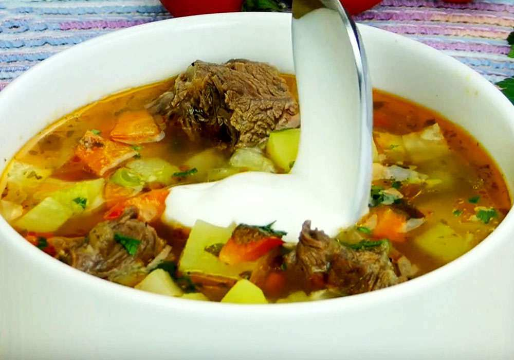 Гороховый суп с говядиной - пошаговый рецепт, фото 1