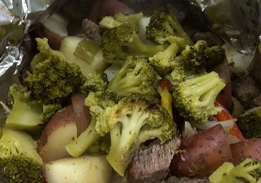 Говядина, запеченная в фольге в духовке - пошаговый рецепт, фото 1