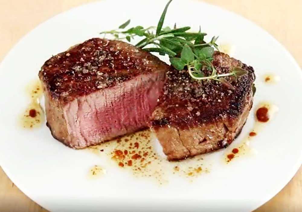 Яловичий стейк, засмажений на сковороді - покроковий рецепт, фото 1