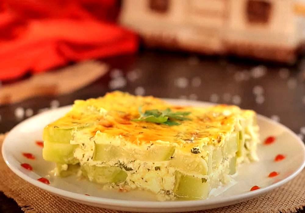 Гратен из кабачков - пошаговый рецепт, фото 1