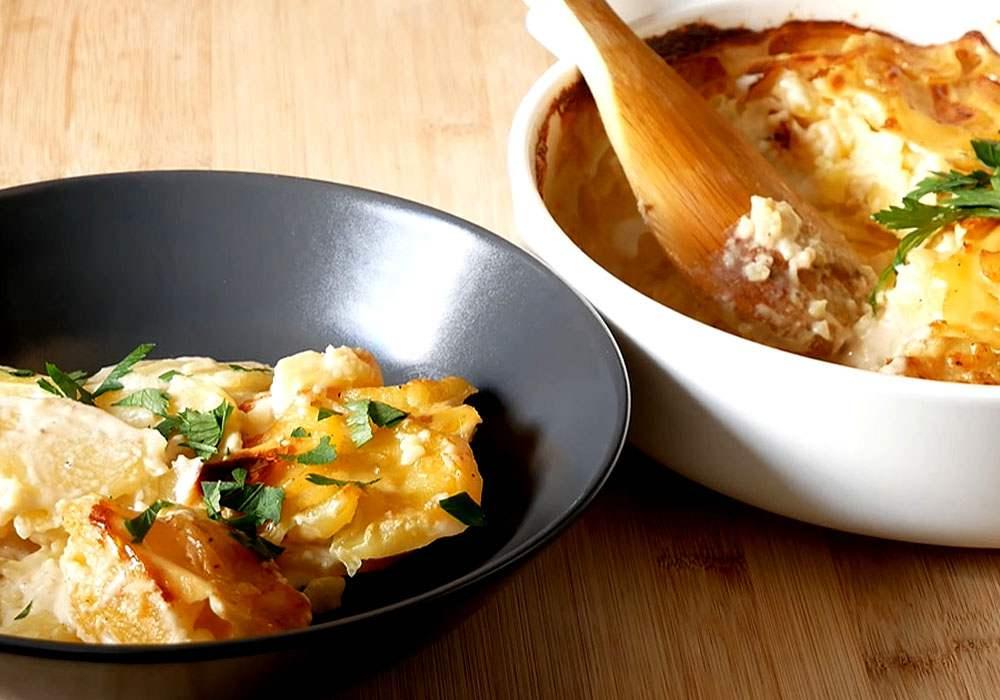 Гратен з картоплі - покроковий рецепт, фото 1