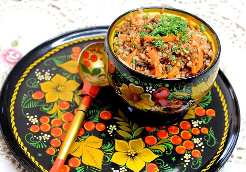 Гречка с овощами на сковороде - пошаговый рецепт, фото 1