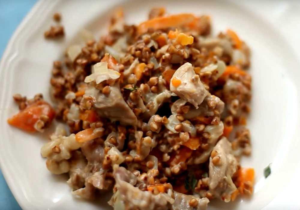 Гречана каша з м'ясом - покроковий рецепт, фото 1