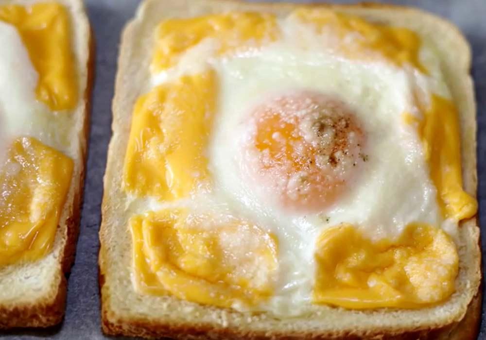 Гренки в духовке - пошаговый рецепт, фото 1