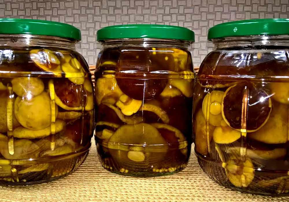 Грибы, маринованные на зиму - пошаговый рецепт, фото 1