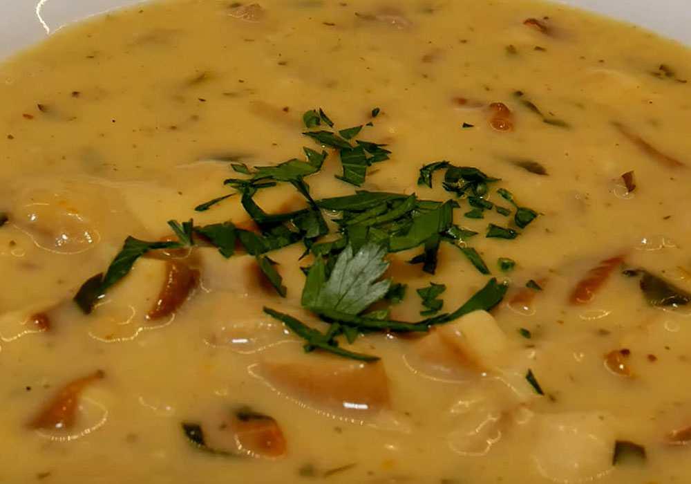 Грибний соус - покроковий рецепт, фото 1
