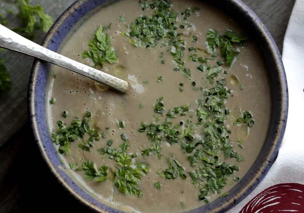 Грибний суп пюре з вершками - покроковий рецепт, фото 1