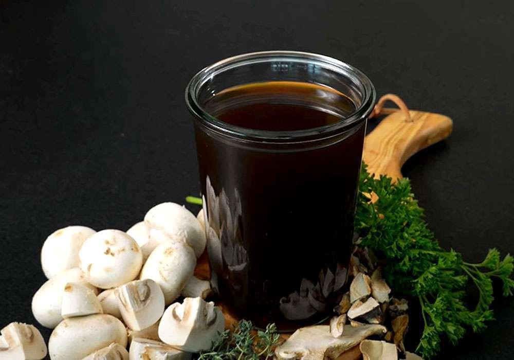 Грибной бульон - пошаговый рецепт, фото 1