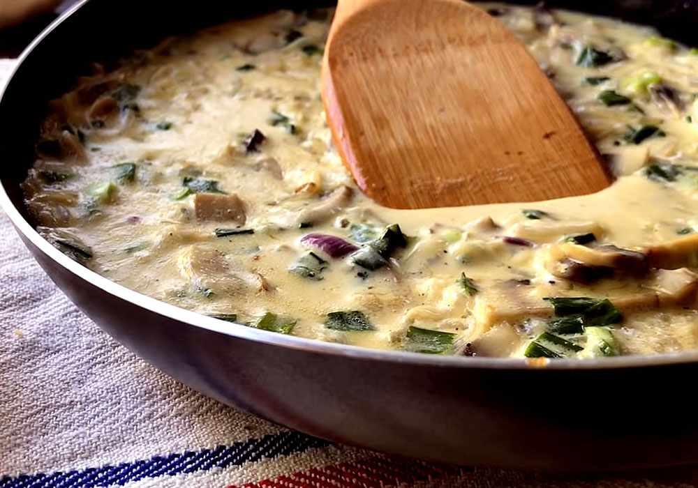 Грибной соус из шампиньонов - пошаговый рецепт, фото 1