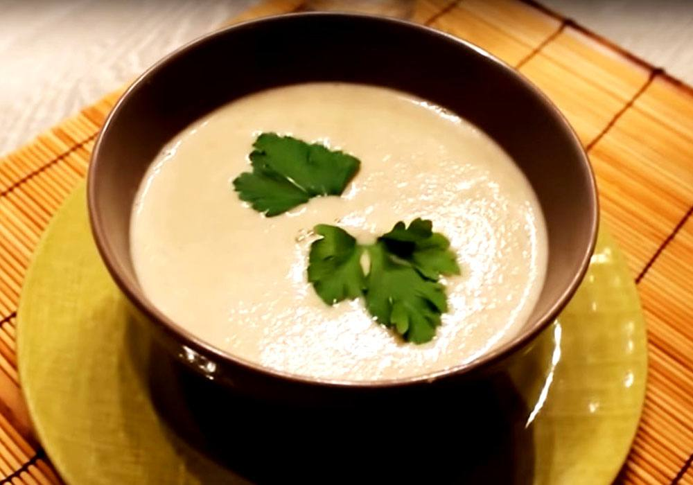 Грибной суп пюре с картофелем - пошаговый рецепт, фото 1