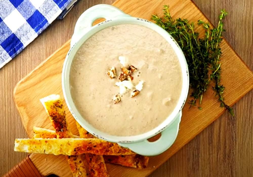 Грибной суп-пюре - пошаговый рецепт, фото 1