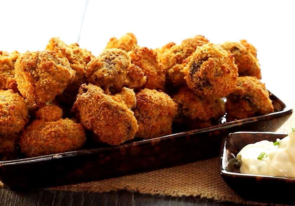 Грибы в духовке - пошаговый рецепт, фото 1