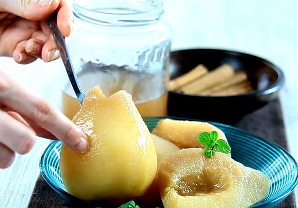 Груши в сиропе с корицей (на зиму) - пошаговый рецепт, фото 1