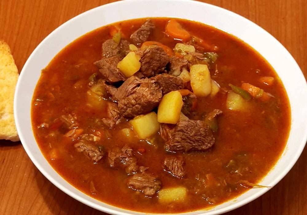 Гуляш без томатной пасты - пошаговый рецепт, фото 1