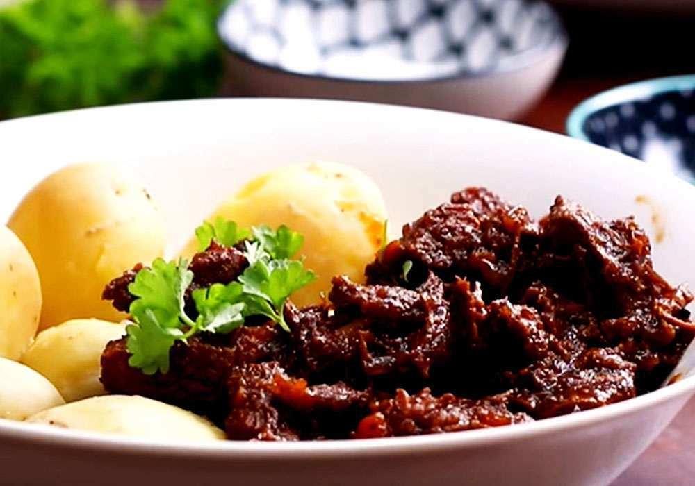 Гуляш из говядины - пошаговый рецепт, фото 1