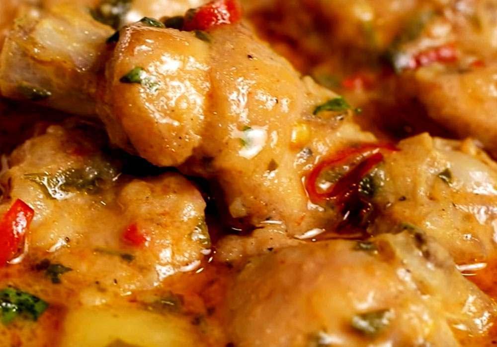 Гуляш с картофелем - пошаговый рецепт, фото 1