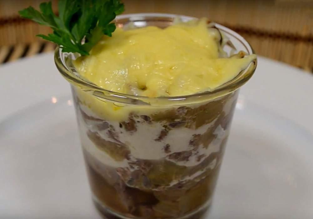 Жульен из печени - пошаговый рецепт, фото 1