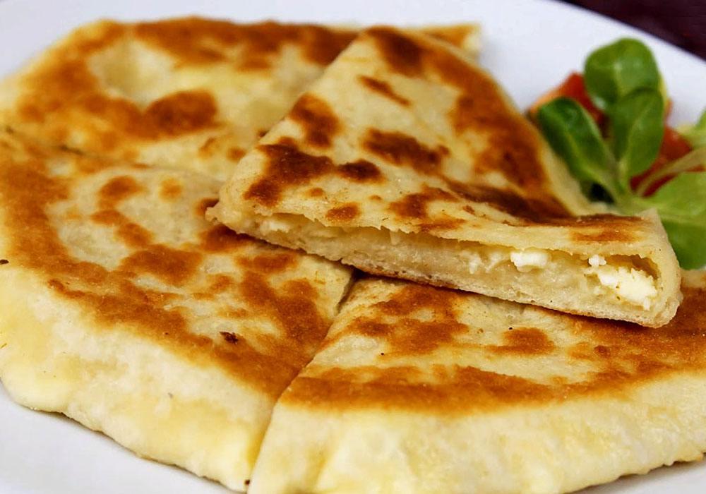 Хачапури по-тбилисски за 5 минут на сковороде - пошаговый рецепт, фото 1