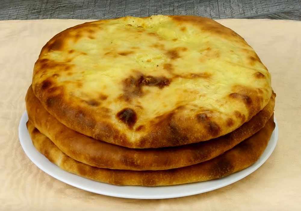 Хачапури с картошкой и сыром - пошаговый рецепт, фото 1