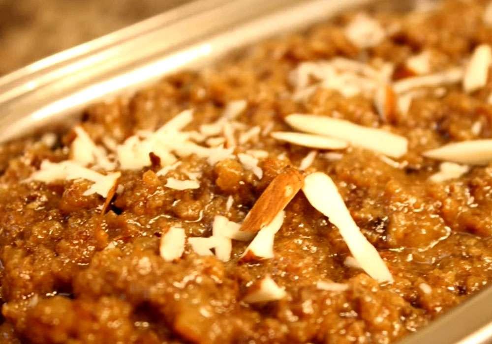 Халва из грецких орехов - пошаговый рецепт, фото 1