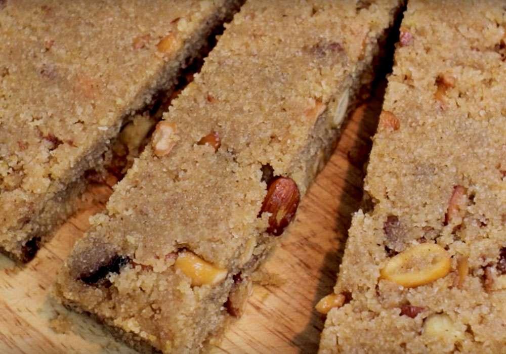 Халва из манки - пошаговый рецепт, фото 1