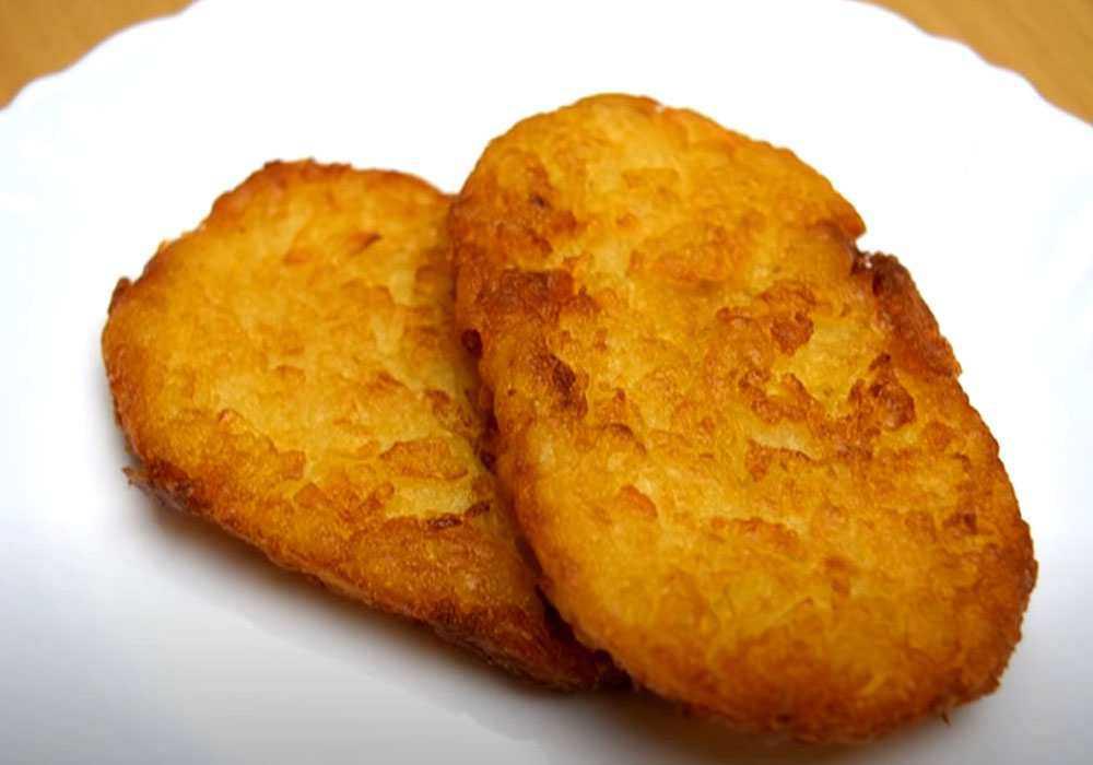 Хешбраун - американські картопляні оладки - покроковий рецепт, фото 1