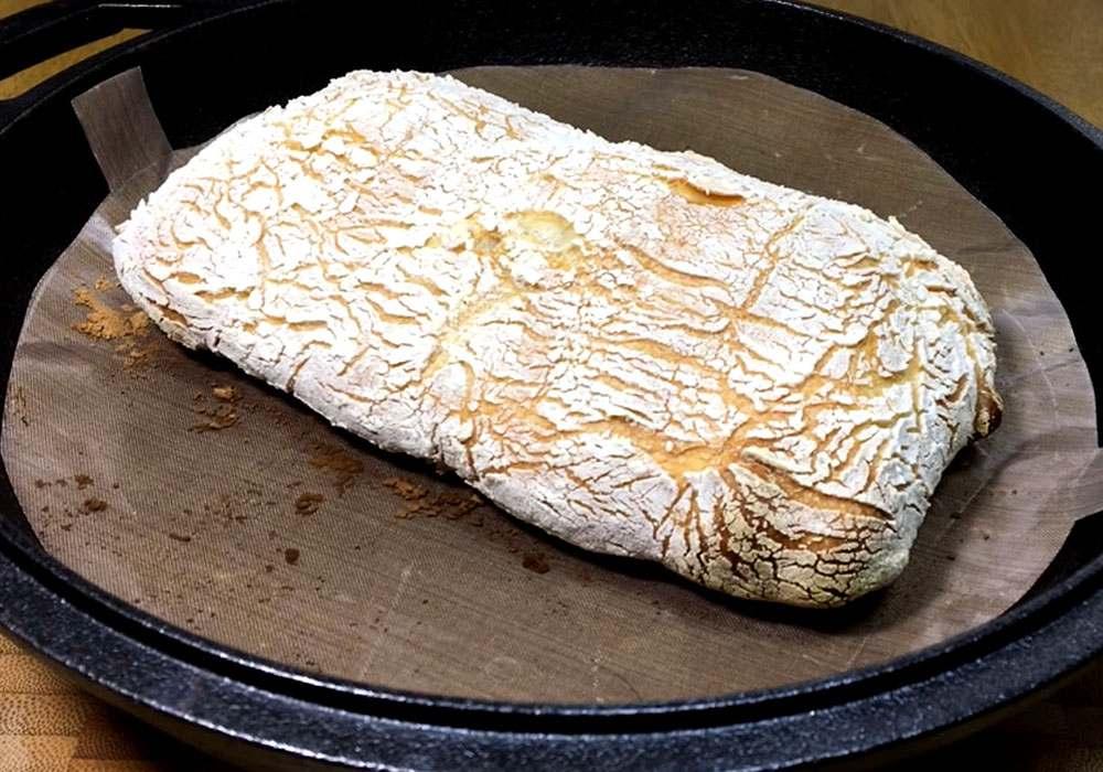 Хлеб чиабатта в духовке - пошаговый рецепт, фото 1