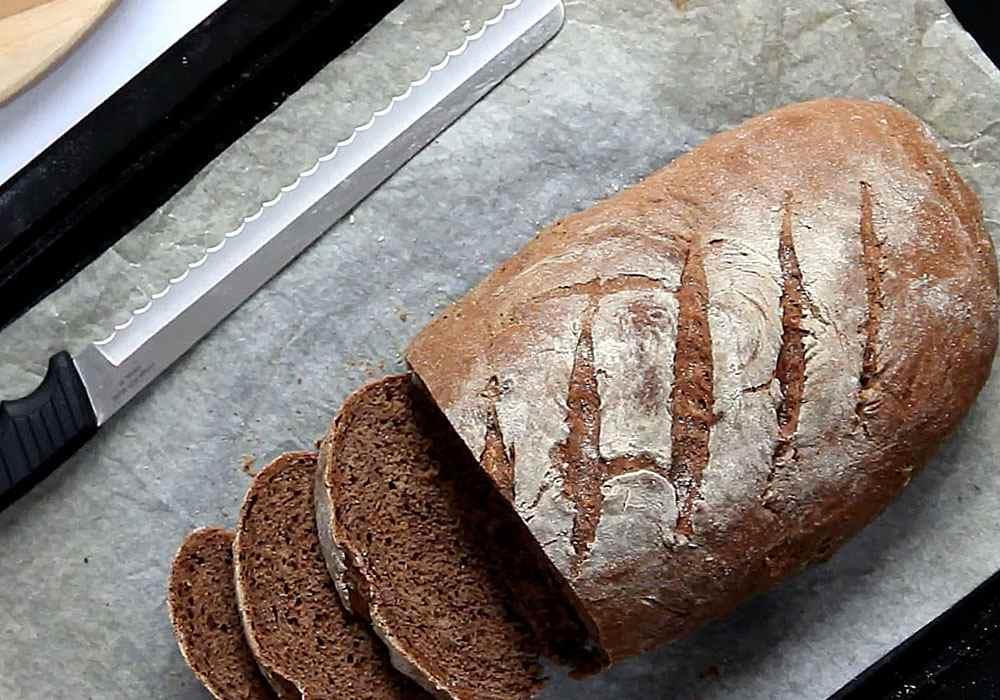 Житній хліб - покроковий рецепт, фото 1