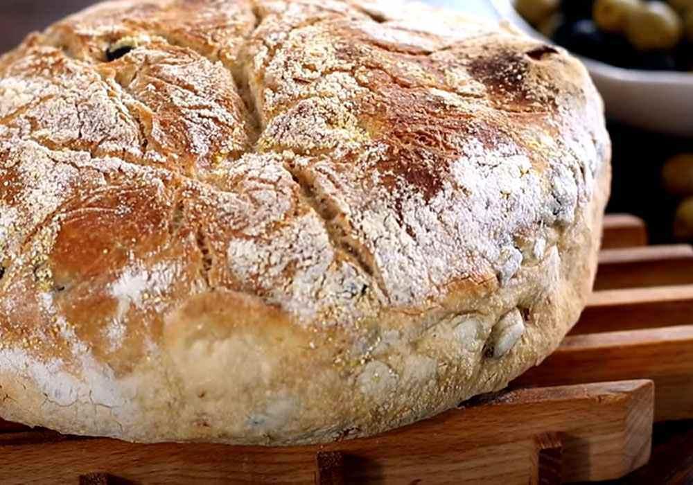 Хлеб с оливками - пошаговый рецепт, фото 1