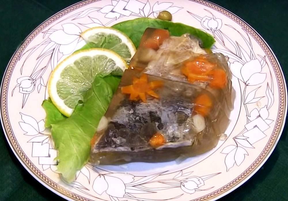 Холодец из рыбы - пошаговый рецепт, фото 1