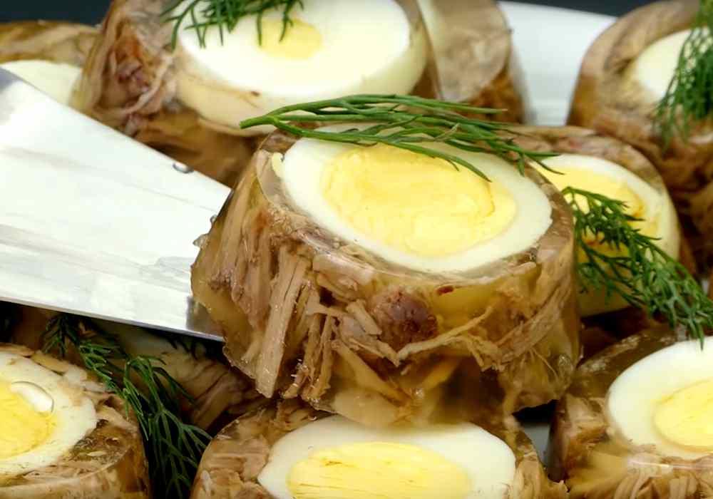 Холодец из свиных ножек в формочках - пошаговый рецепт, фото 1