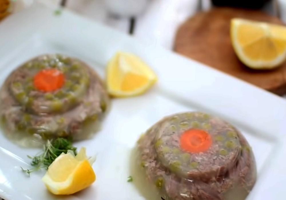 Холодець зі свинини за бабусиним рецептом - покроковий рецепт, фото 1