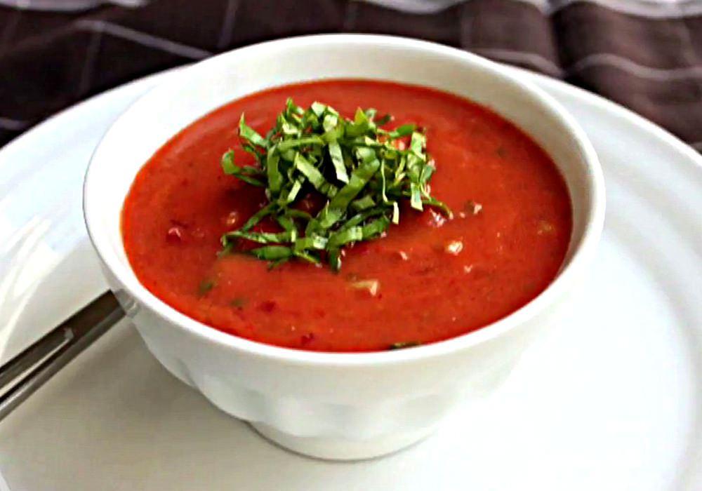 Холодный томатный суп гаспачо - пошаговый рецепт, фото 1