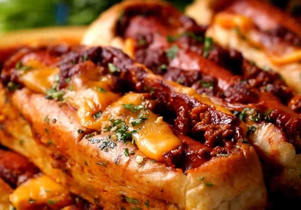 Хот-дог с сосиской - пошаговый рецепт, фото 1
