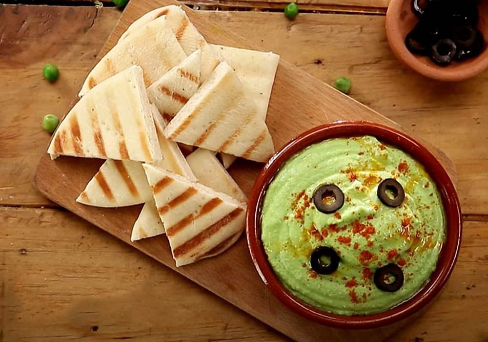 Хумус з гороху - покроковий рецепт, фото 1