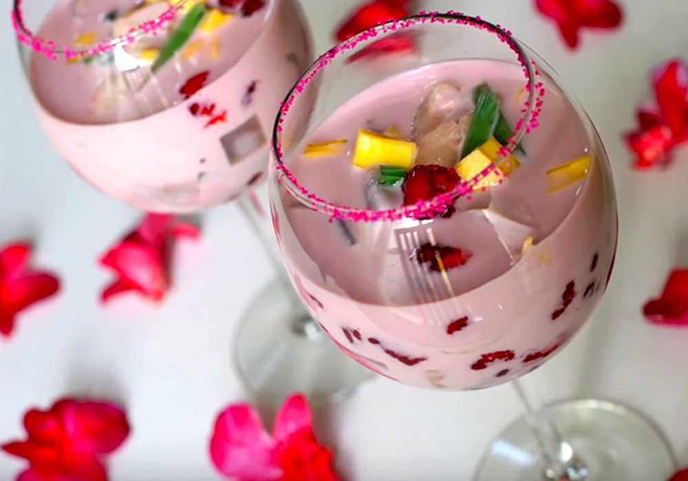 Игристый фруктовый коктейль - пошаговый рецепт, фото 1