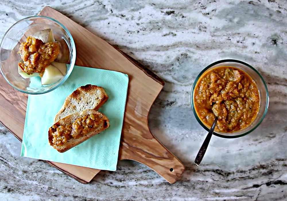 Икра из кабачков с помидорами - пошаговый рецепт, фото 1