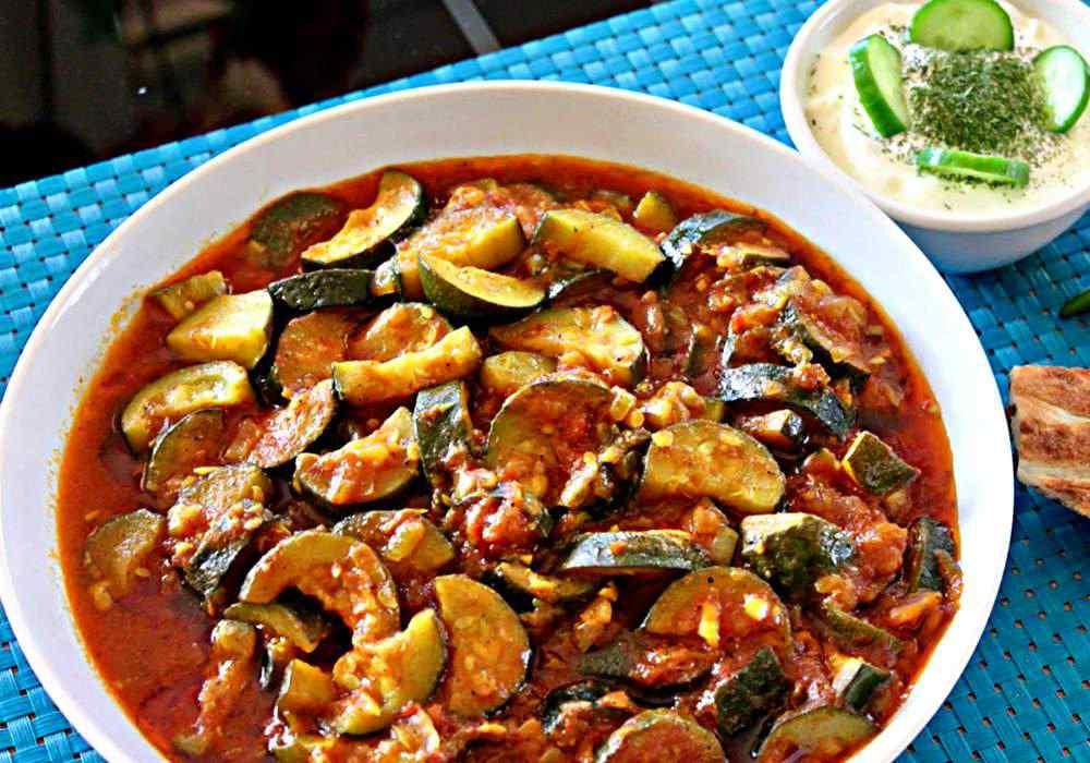 Ікра з кабачків з томатною пастою - покроковий рецепт, фото 1