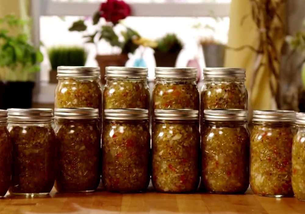 Ікра із зелених помідорів і кабачків - покроковий рецепт, фото 1