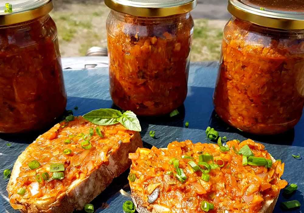 Ікра овочева (кабачкова) без клопоту - покроковий рецепт, фото 1